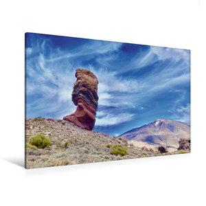 Premium Textil-Leinwand 120 cm x 80 cm quer Bizarre Felsen auf T