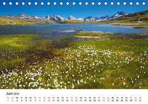 BERGSEEN Schweizer Alpen (Tischkalender 2019 DIN A5 quer)