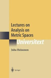 Lectures on Analysis on Metric Spaces