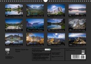 Meine Sicht der Alpen (Wandkalender 2019 DIN A3 quer)