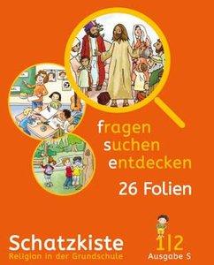 fragen - suchen - entdecken. Folienmappe 1/2. Ausgabe Baden-Würt