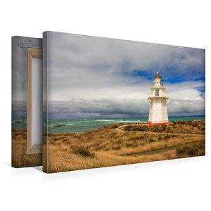 Premium Textil-Leinwand 45 cm x 30 cm quer Waipapa Point Lightho