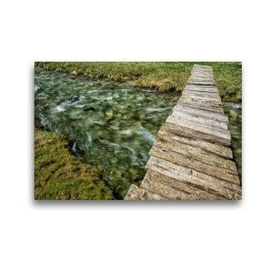 Premium Textil-Leinwand 45 cm x 30 cm quer Naturbrücke