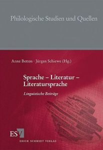 Sprache - Literatur - Literatursprache