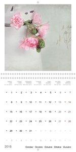 Flower Fantasy (Wall Calendar 2018 300 × 300 mm Square)
