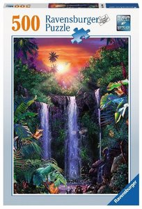 Traumhafte Wasserfälle (Puzzle)