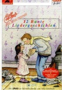 12 bunte Liedergeschichten, 1 DVD