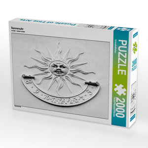 Sonnenuhr 2000 Teile Puzzle quer