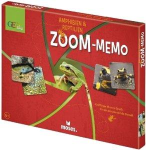 Geolino Zoom-Memo (Kinderspiel), Amphibien & Reptilien