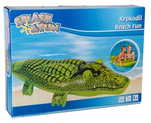 Splash & Fun Aufblaskrokodil, 151 x 70 cm