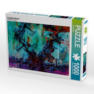 Verrückte Skyline 1000 Teile Puzzle quer