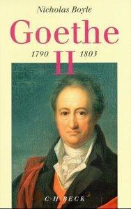 Goethe 1790 - 1803