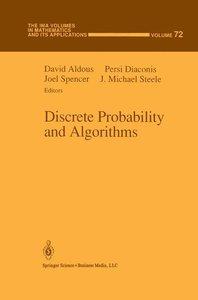 Discrete Probability and Algorithms