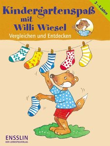 Kindergartenspaß mit Willi Wiesel. Vergleichen und Entdecken