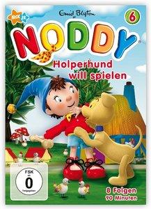 Noddy 6-Holperhund Will Spielen