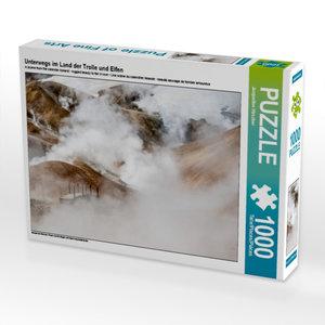 Unterwegs im Land der Trolle und Elfen 1000 Teile Puzzle quer