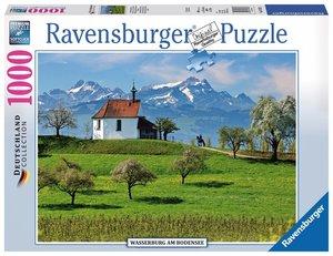 Ravensburger 197033 - Wasserburg am Bodensee - Puzzle, 1000 Teil