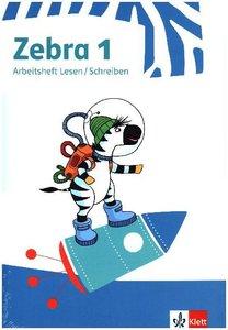 Zebra 1. Paket: enthält Buchstabenheft und Arbeitsheft Lesen