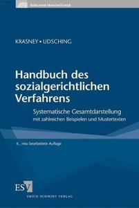 Handbuch des sozialgerichtlichen Verfahrens
