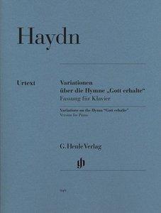 """Variationen über die Hymne """"Gott erhalte"""""""