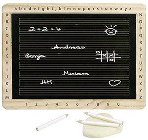 Goki 58950 - Schreibtafel mit Kreide und Schwamm