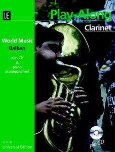 Balkan - Play Along Clarinet, mit Audio-CD + oder Klavierbegleit