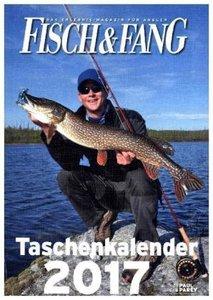 Fisch & Fang Taschenkalender 2017