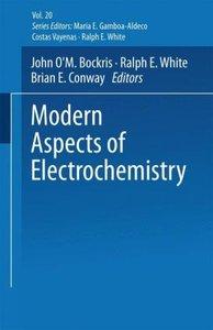 Modern Aspects of Electrochemistry No. 20