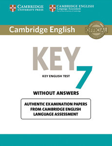 Cambridge English Key 7. Student's Book without answers