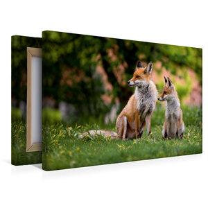 Premium Textil-Leinwand 45 cm x 30 cm quer Abschied