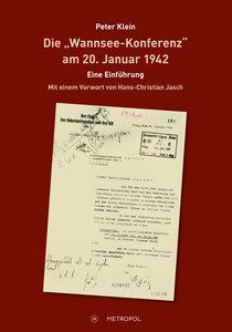 """Die \""""Wannsee-Konferenz\"""" am 20. Januar 1942"""