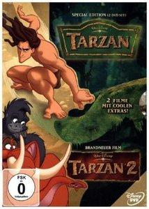 Tarzan - Teil 1 und 2, 2 DVDs (Doppelpack)