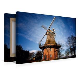 Premium Textil-Leinwand 45 cm x 30 cm quer Windmühle in Bad Zwis