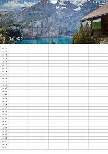 Dein Berge Kalender (Wandkalender 2020 DIN A3 hoch)