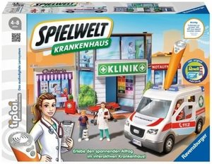 Ravensburger 7721 tiptoi Spielewelt Krankenhaus