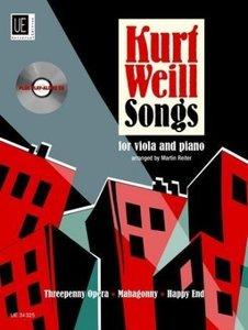 Songs für Viola und Klavier, mit Audio-CD