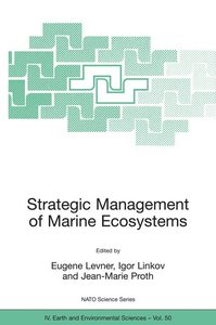 Strategic Management of Marine Ecosystems