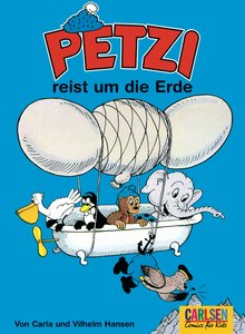 Petzi 11. Petzi reist um die Erde