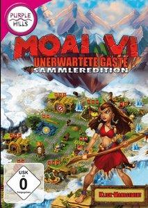 Purple Hills: Moai VI: Unerwartete Gäste - Sammleredition (Klick