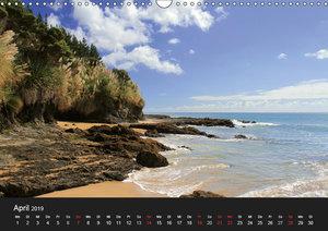 Aotearoa - Das Land der langen weißen Wolke (Wandkalender 2019 D