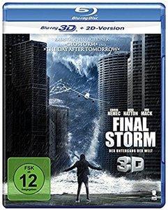 Final Storm - Der Untergang der Welt 3D, 1 Blu-ray