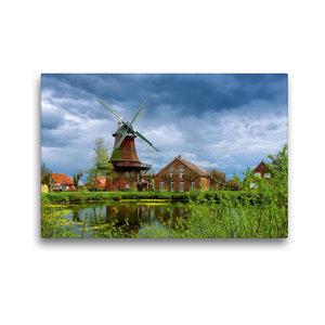 Premium Textil-Leinwand 45 cm x 30 cm quer Nessmer Mühle