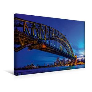 Premium Textil-Leinwand 45 cm x 30 cm quer Coat Hanger - Sydney