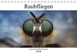 Faszination Makrofotografie: Raubfliegen (Tischkalender 2018 DIN