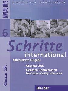 Schritte international 6. Niveau B1/2 / Glossar XXL Deutsch-Tsch