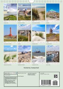 Norderney Inselportrait (Wandkalender 2020 DIN A4 hoch)