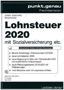Lohnsteuer 2020