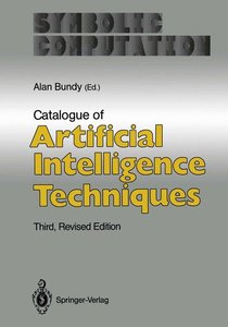 Catalogue of Artificial Intelligence Techniques