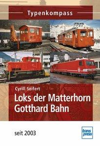 Loks der Matterhorn Gotthard Bahn seit 2003