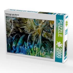 Dschungel unter Wasser 2000 Teile Puzzle quer
